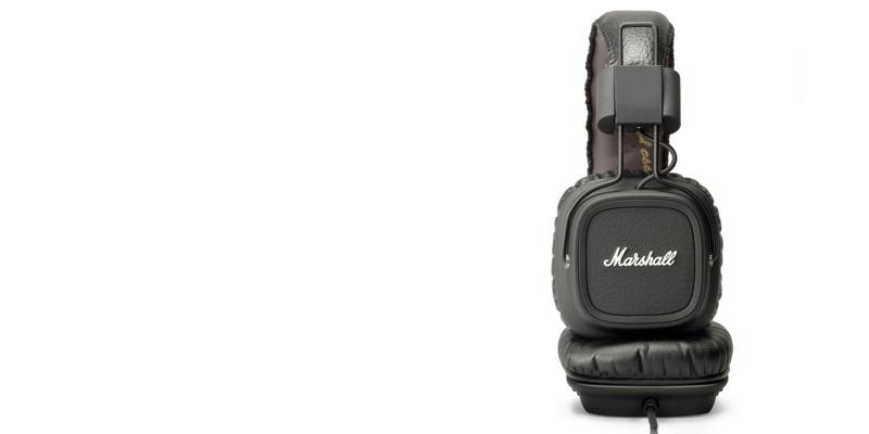 (製品レビュー)人と違うヘッドフォンを使いたいならMarshallのMajorがオススメ!