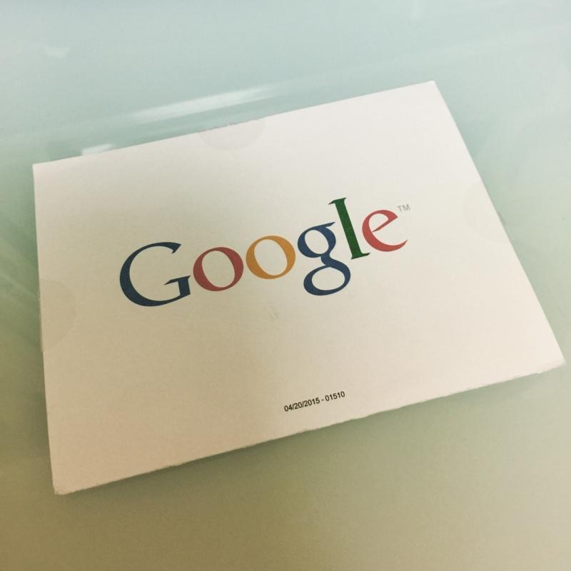 Google AdSenseのPINコードがやっとこさ届きました!