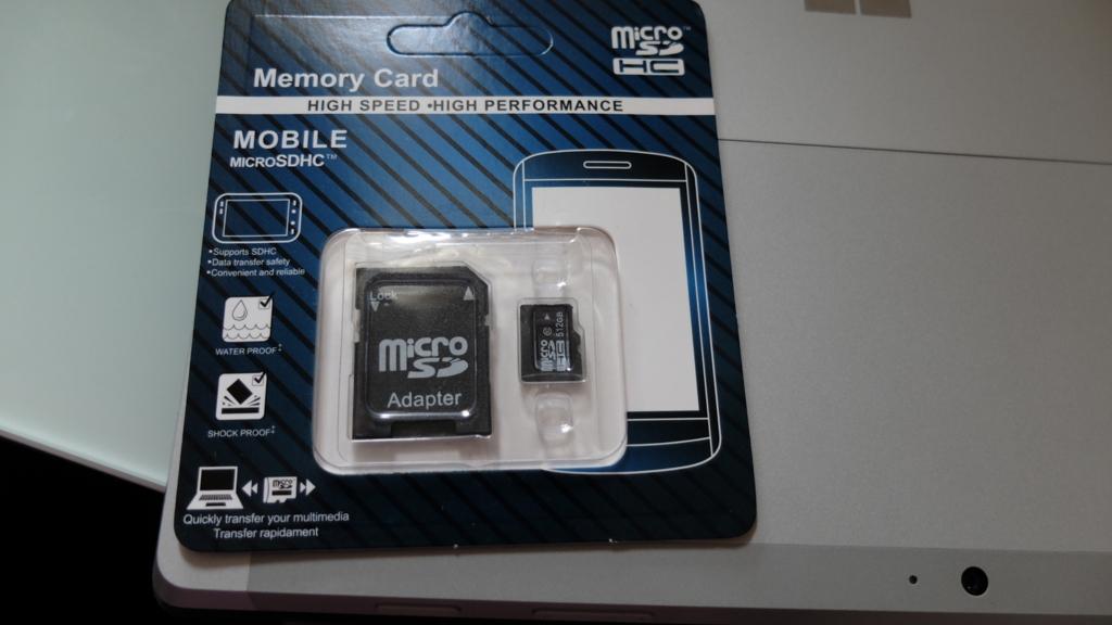 (製品レビュー)ついに届いた!あの激安だった512GBのMicroSDをレビューだ!