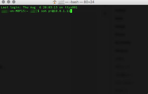 Raspberry pi 2をVNCでMacとWinからリモート接続出来るようにしました!