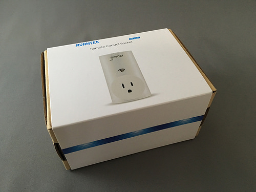 AVANTEKのWi-Fi内蔵、家庭用電源リモートスイッチで家の家電を制御しよう!