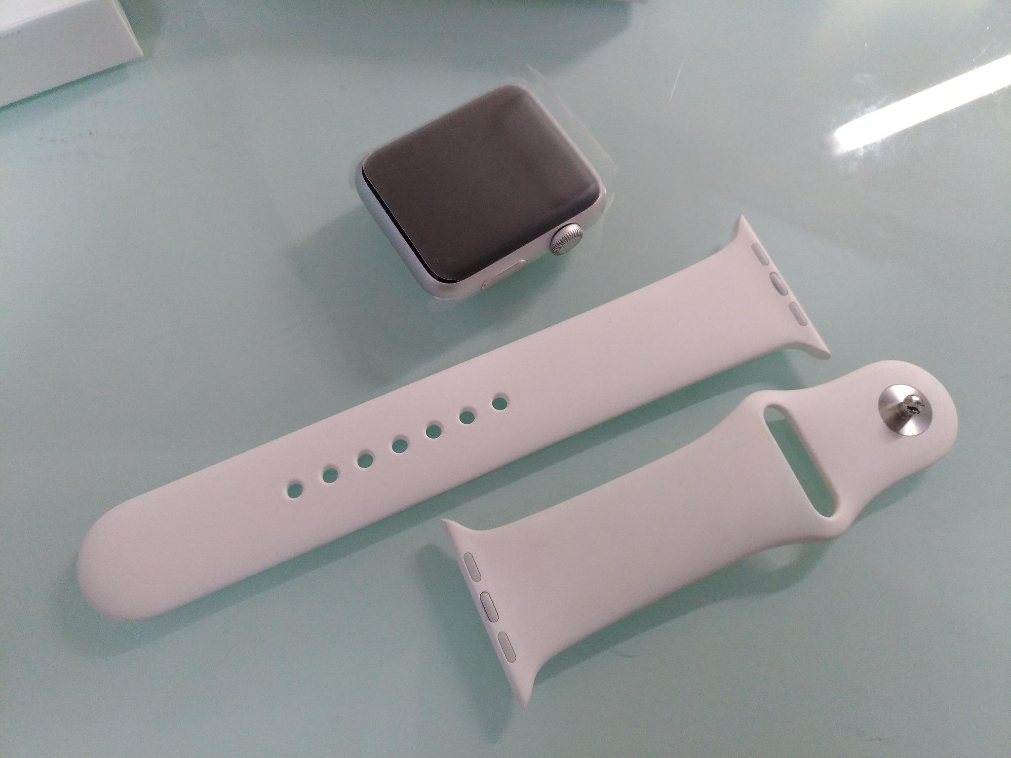 Apple WATCHの初代は交換になるとSeries1になって返ってきますよ!